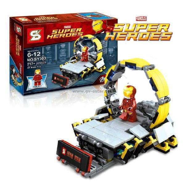 เลโก้จีน SY303 ห้องแล๊บ Ironman