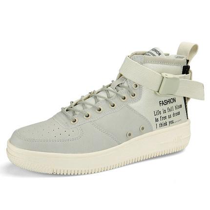 พรีออเดอร์ รองเท้าหุ้มข้อ เบอร์ 36-45 แฟชั่นเกาหลีสำหรับผู้ชายไซส์ใหญ่ เบา เก๋ เท่ห์ - Preorder Large Size Men Korean Hitz Sport Shoes
