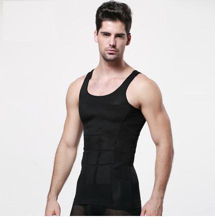 [พร้อมส่ง] เหลือแต่ XL เสื้อกล้ามกระชับสัดส่วน สำหรับผู้ชายไซส์ใหญ่ XL-2XL แขนกุดน้ำหนักประมาณ 45 - 145 กก.- [In Stock] Abdomen Body Sculpture Sleeveless Vests for Men 45-145 kg.size XL-2XL