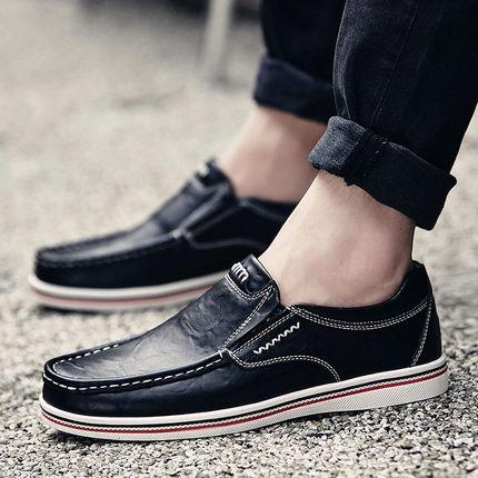 พรีออเดอร์ รองเท้าหนัง เบอร์ 38 -47 แฟชั่นเกาหลีสำหรับผู้ชายไซส์ใหญ่ เก๋ เท่ห์ - Preorder Large Size Men Korean Hitz Sandal