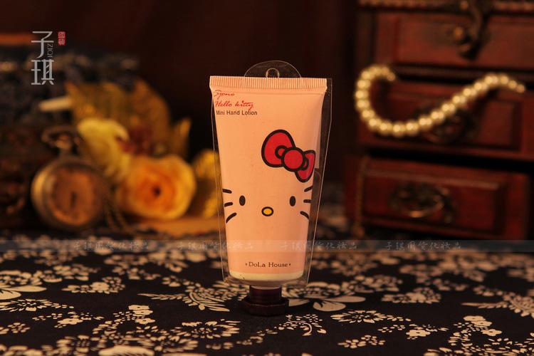 *พร้อมส่ง* 50g. Hello Kitty Hand Cream - ครีมทามือกลิ่นจัสมิน Hello Kitty