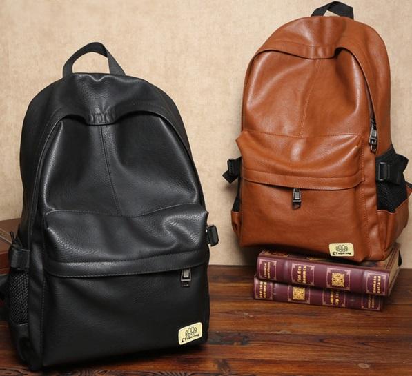 กระเป๋าเป้หนัง Leather well