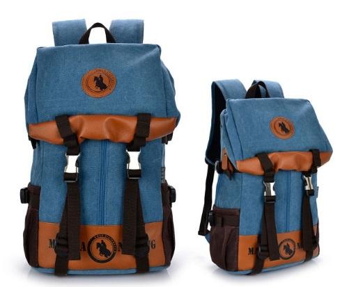 กระเป๋า Backpack Leisure Canvas