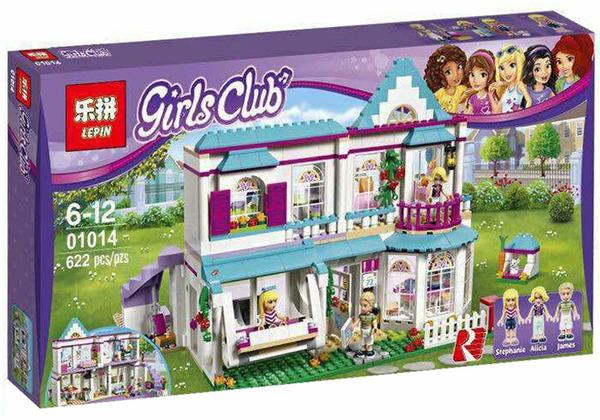 เลโก้จีน LEPIN.01014 ชุด Friends Stephanie's House