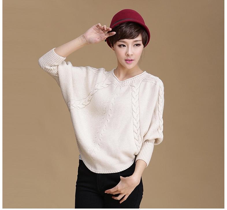 **พรีออเดอร์** เสื้อกันหนาวไหมพรมผู้หญิงแฟชั่นเกาหลีใหม่ แขนยาว แบบเก๋ เท่ห์ / **Preorder** New Korean Fashion Wear on Both Side Long-sleeved Knitting Sweater