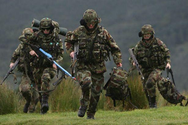 การใช้ wrist weight ชุดถ่วงน้ำหนัก ฝึกทหาร
