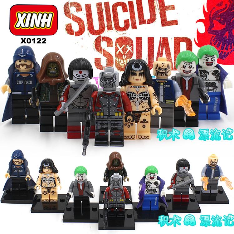 เลโก้จีน XINH 315-322 ชุด Super Heroes (สินค้ามือ 1 ไม่มีกล่อง)