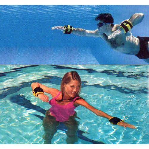 การใช้ wrist weight ชุดถ่วงน้ำหนัก ว่ายน้ำ