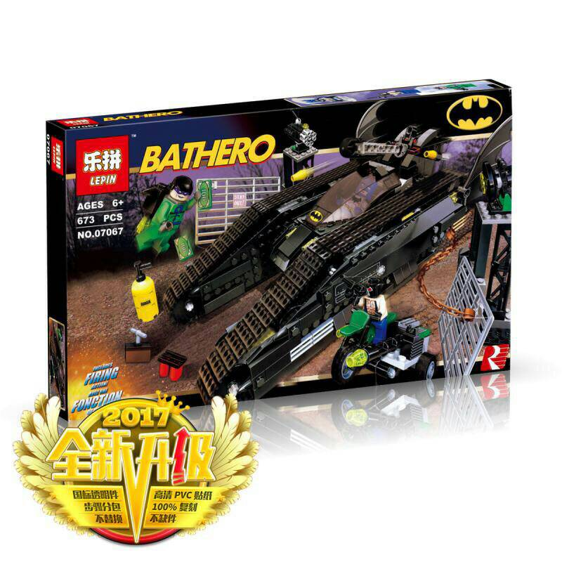 เลโก้จีน LEPIN.07067 ชุด The Bat-Tank: The Riddler and Bane's Hideout.