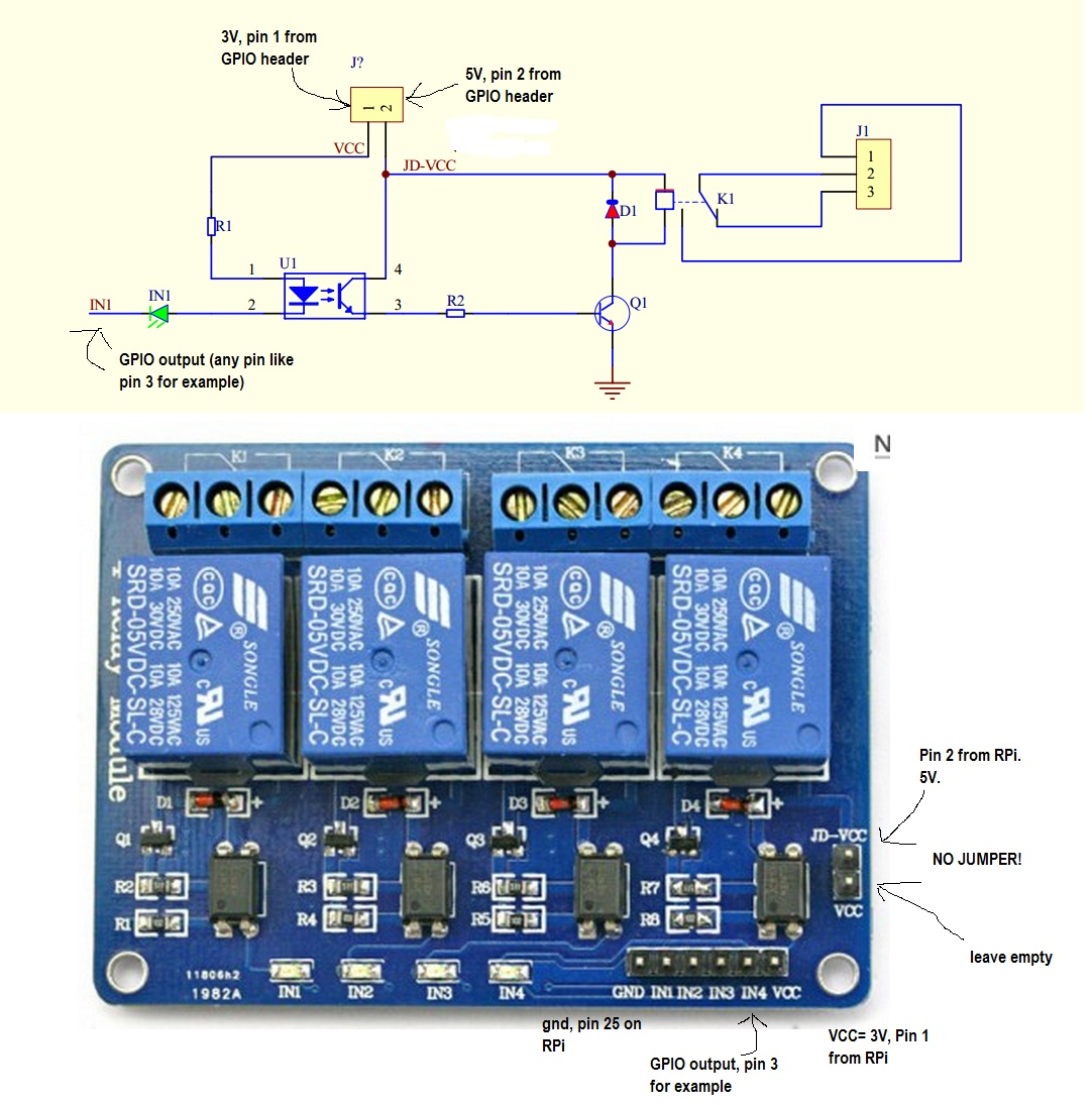4 Relay Module Wiring Diagram 29 Images Arduino Dc Find A Guide With Ar Sainsmart 8 Channel 5v Schematic Cannot Get