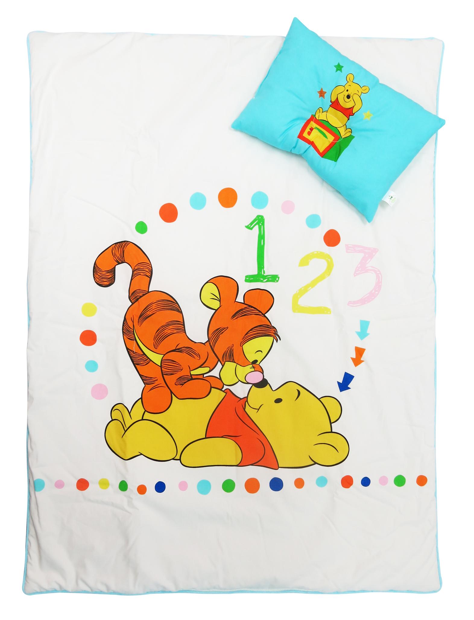 Pooh Ready to play ผ้าห่มนวมหนา 30*40 นิ้ว