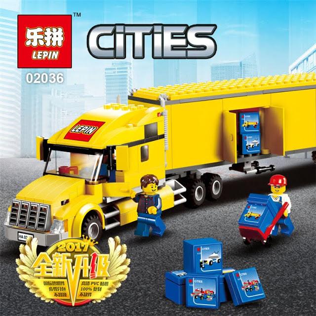 เลโก้จีน LEPIN.02036 ชุด City