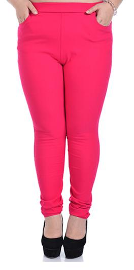[พร้อมส่ง] กางเกงยืดเอวสูงขายาว สำหรับผู้หญิงไซส์ใหญ่ สีดำ - [In Stock] High Waist Long-legged Pants for Large Size Women, Black Color