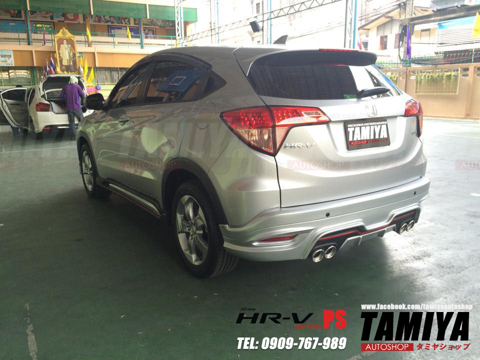 honda hrv back side