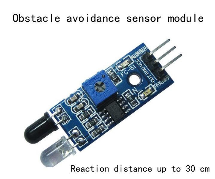 Infrared barrier module obstacle avoidance sensor identification distance can be adjusted