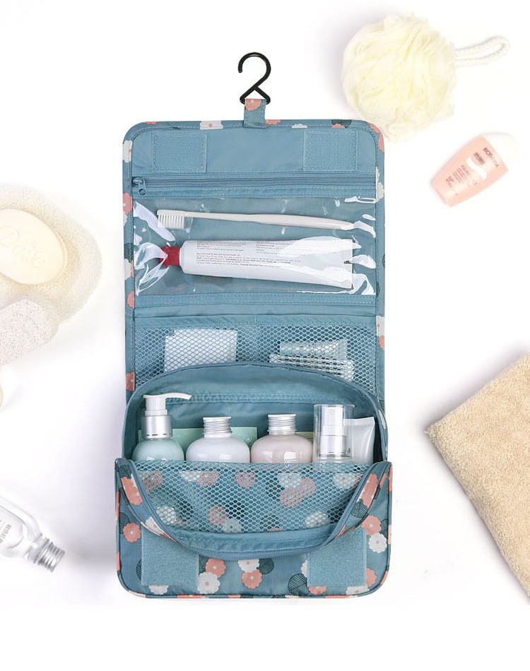กระเป๋าเครื่องสำอาง/อุปกรณ์อาบน้ำ Travel storage แบบมีที่แขวน