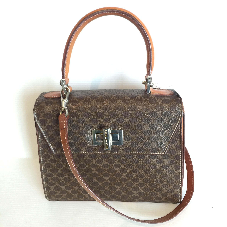 (SOLDOUT)Celine Vintage Crossbody bag with strap