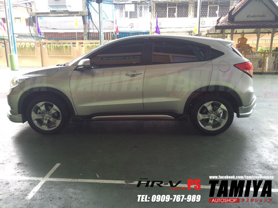 honda hrv side view