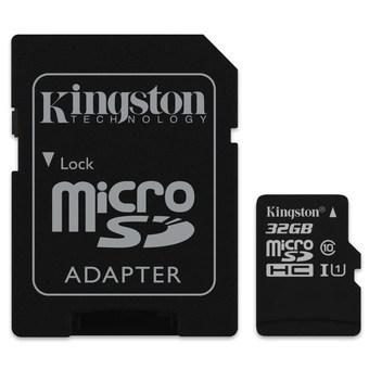 Raspberry Pi Kingston Micro SD Class 10 - 32GB