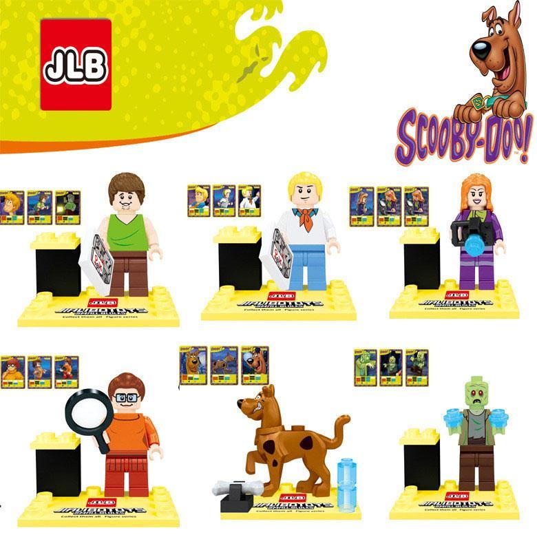 เลโก้จีน JLB.3D27901-3D27906 ชุด Scooby Doo