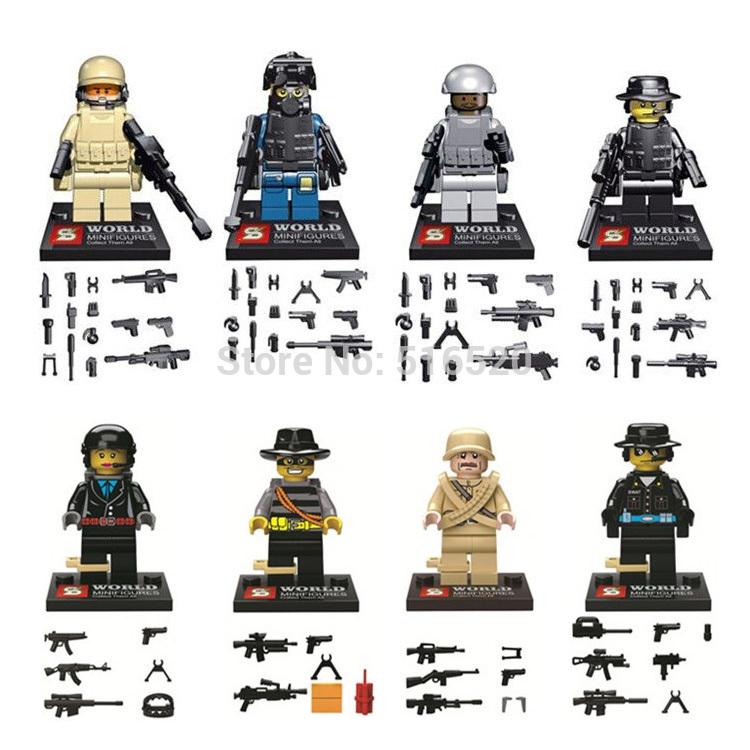 เลโก้จีน SY168 s.w.a.t.