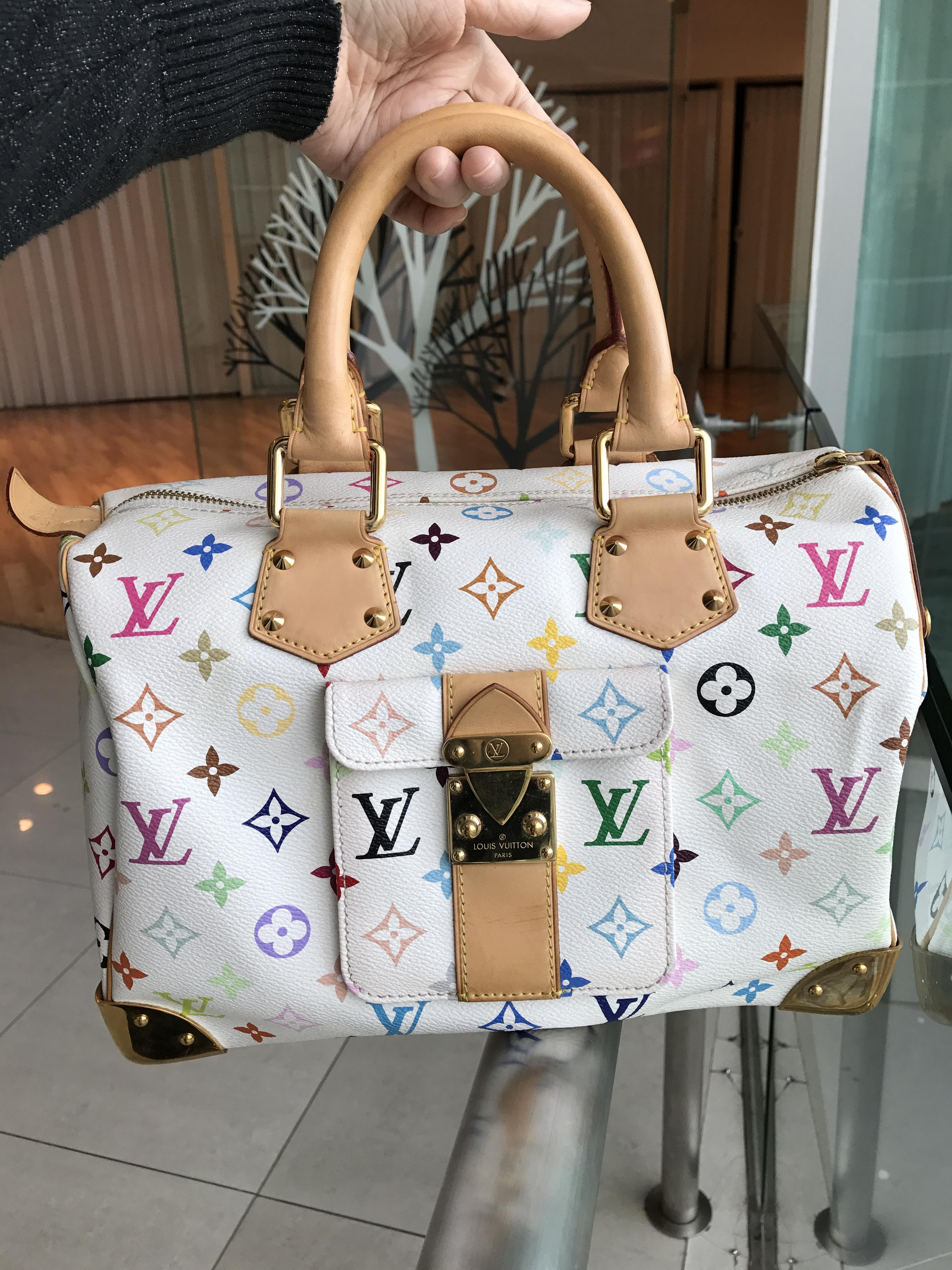 (SOLDOUT)LOUISVUITTON multicolor speedy 30