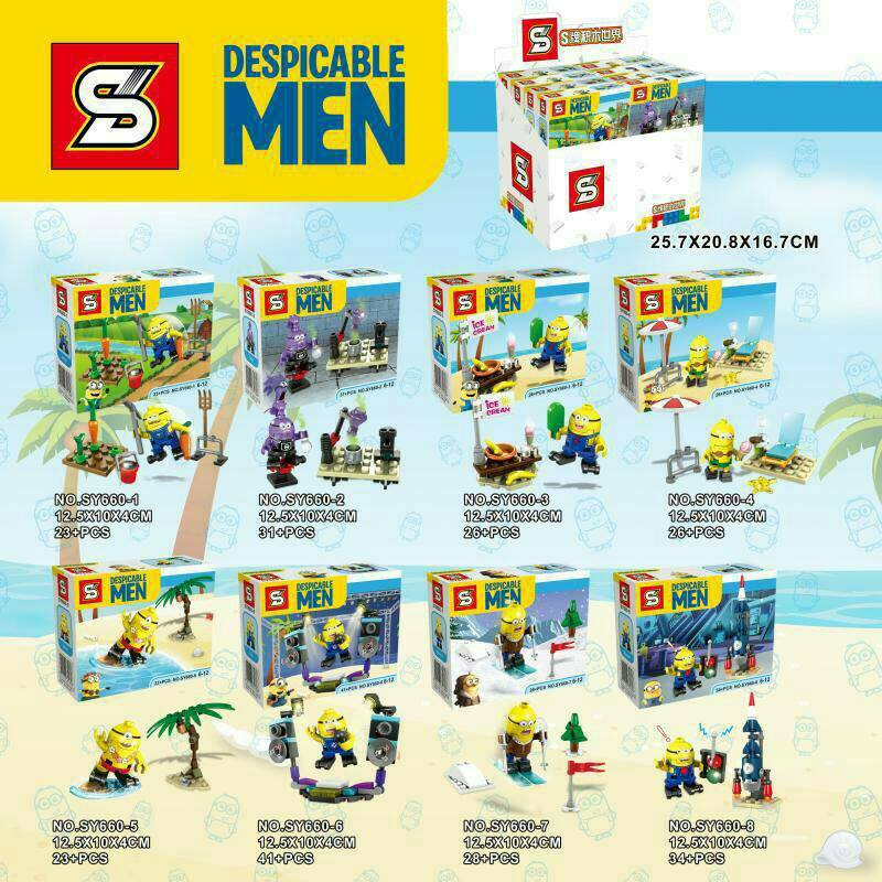 เลโก้จีน SY.660 ชุด Despicable Me Minion
