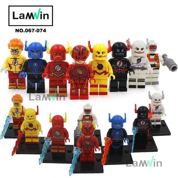 เลโก้จีน XINH 067-074 ชุด super heroes The Flash