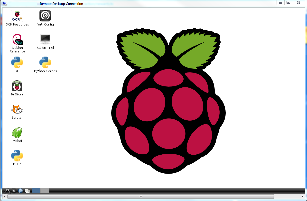 Remote Desktop on Raspberry pi
