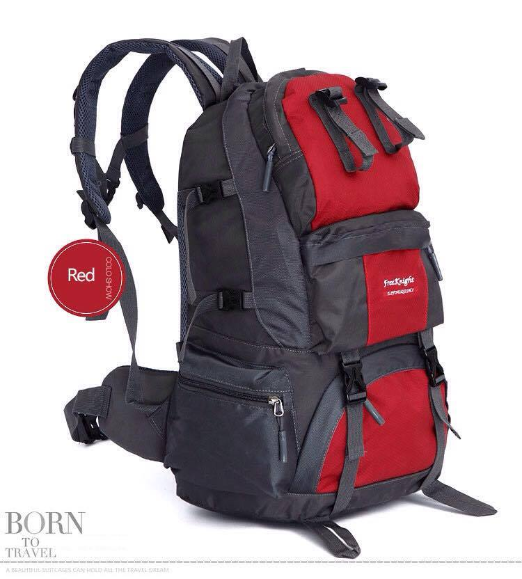 กระเป๋าเป้ ฺBackpack Mountaineering Hiking 50ลิตร สำเนา