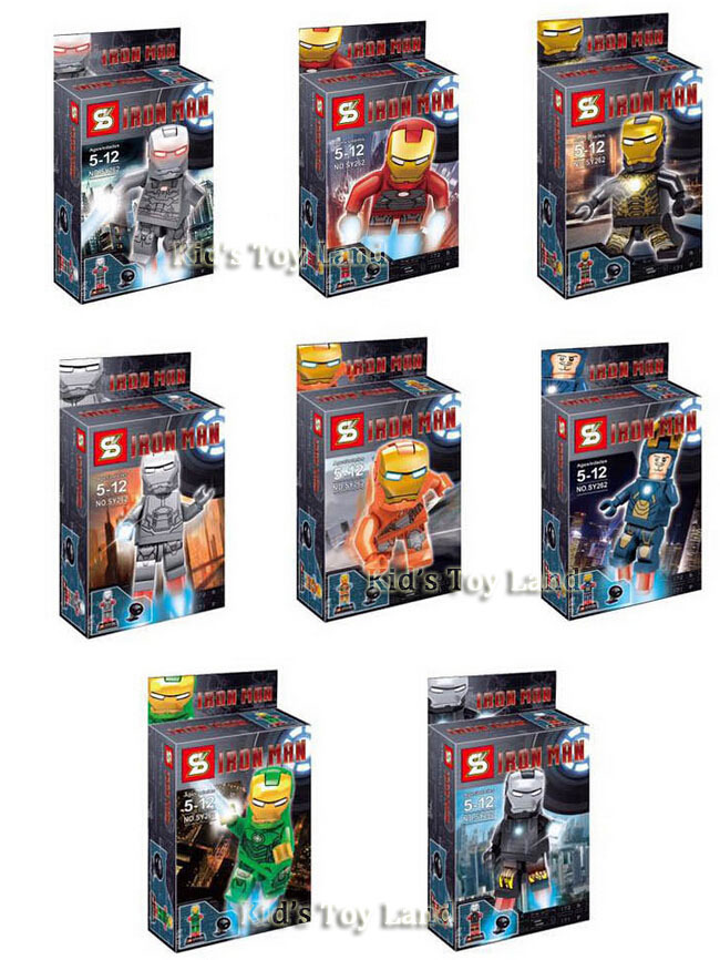 เลโก้จีน SY 262 super heroes ironman