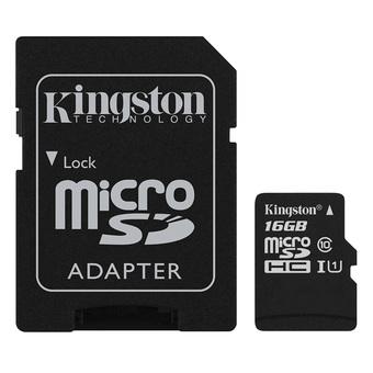 Raspberry Pi Kingston Micro SD Class 10 - 16GB