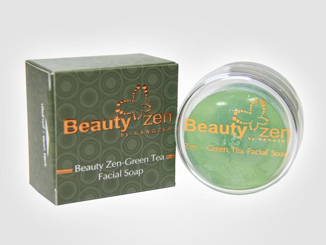 Beauty Zen-Green Tea Facial Soap (สบู่ล้างหน้าเซน-กรีนที)