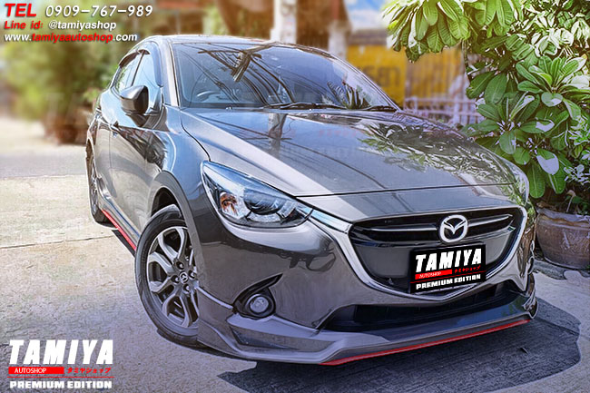 ชุดแต่ง Mazda2 SkyActiv 4ประตู by TamiyaAutoshop