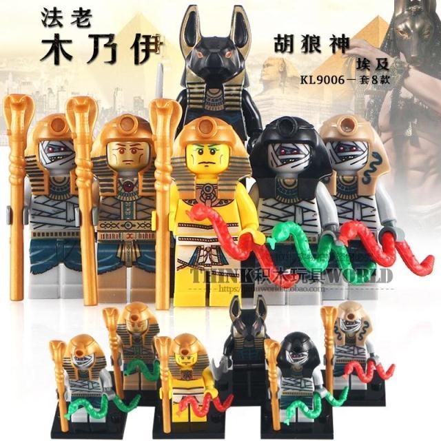 เลโก้จีน KL.044-049 ชุด Minifigures (สินค้ามือ 1 ไม่มีกล่อง)