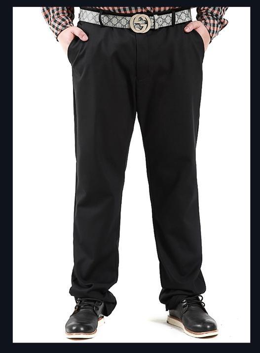 [พรีออเดอร์] กางเกงแฟชั่นเกาหลีผู้ชายไซต์ใหญ่ size 40 - 50 ขายาว - [Preorder] Plus size Men ฺKorean Hitz size 40 - 50 Long Trousers