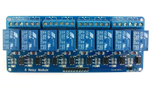 8 Channel 5V Relay Module high-current relay DC30V 10A or AC250V 10A