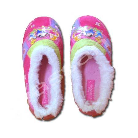 รองเท้า สีชมพู ลาย Princess