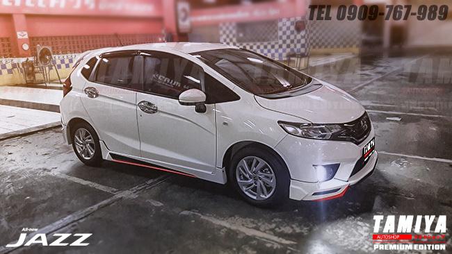 ชุดแต่งรถ Honda Jazz 2014