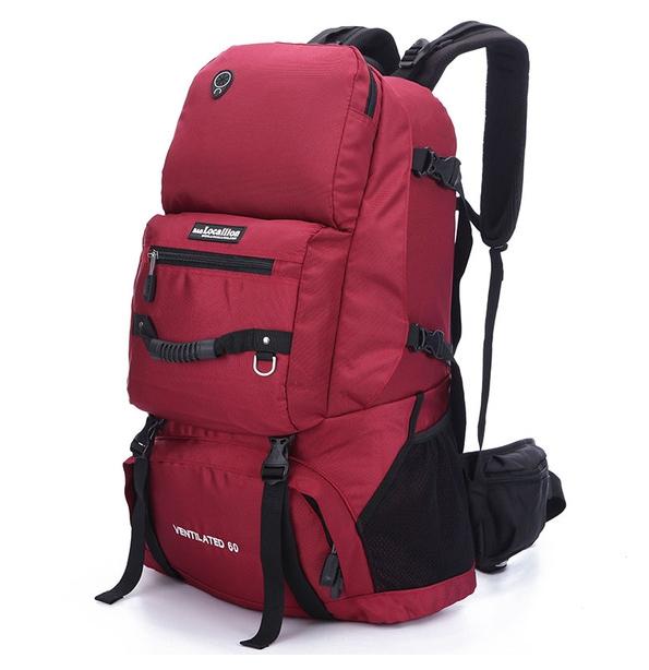ฺLocallion backpack 60L 2nd Edition (สีแดง)
