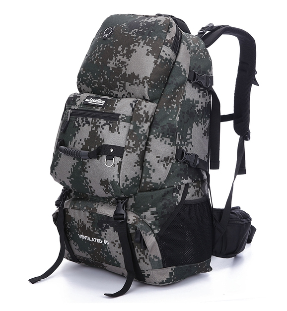 ฺLocallion backpack 60L 2nd Edition (ลายพราง)