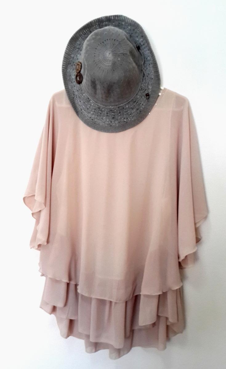 [พร้อมส่ง] เสื้้อแฟชั่นไปงานเลี้ยง 2 ชั้น สวยหรู แขนสั้น สำหรับผู้หญิงไซส์ใหญ่ ไซส์ XL - [In Stock] New Korean Fashion Shirt Short-Sleeved for Large Size Woman