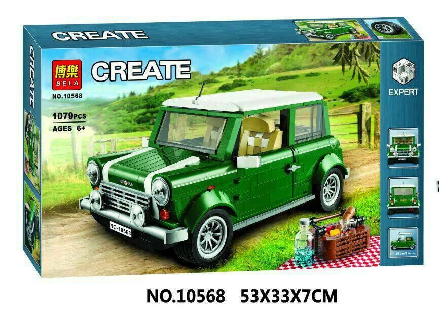 เลโก้จีน Bela 10568 ชุด Mini Cooper