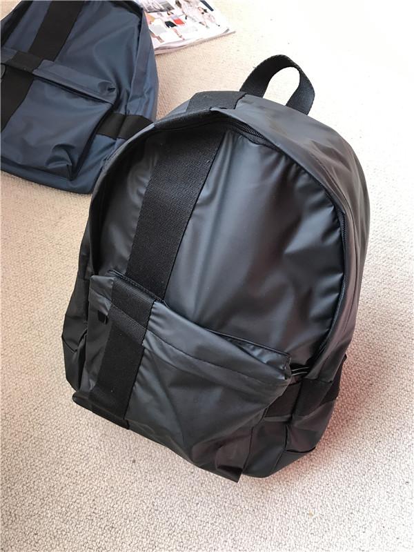 กระเป๋าเป้สะพายหลังสารพัดประโยชน์ สวย ทน เท่ห์ คุณภาพชั้นนำเป็นที่ยอมรับระดับสากล Good use of good benefits! Large-capacity high-quality simple waterproof backpack shoulder bag travel men and women