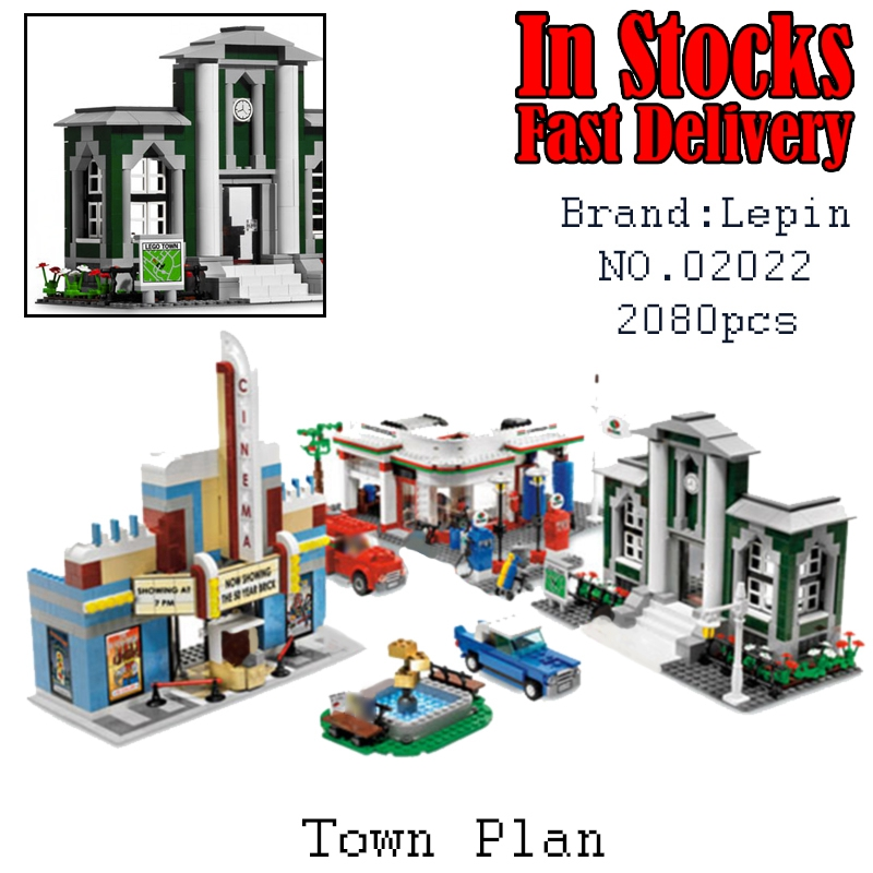 เลโก้จีน LEPIN.02022 ชุด City : Town Plan