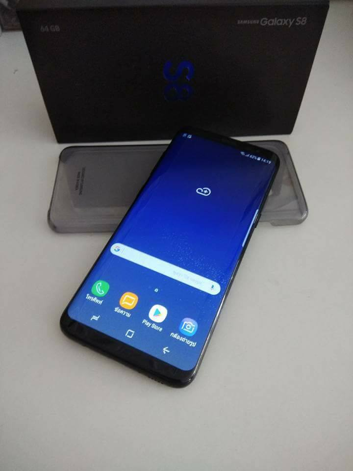 (มือสอง) Galaxy S8 ประกันถึงกันยา สภาพ 99.99999
