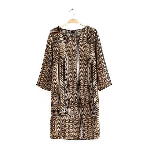 **พรีออเดอร์** ชุดเดรสผู้หญิงแฟชั่นยุโรปใหม่ แขนยาว แบบเก๋ เท่ห์ / **Preorder** New European Fashion Long-Sleeved Dress
