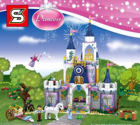 เลโก้จีน SY.988 ชุด Cinderella's Dream Castle