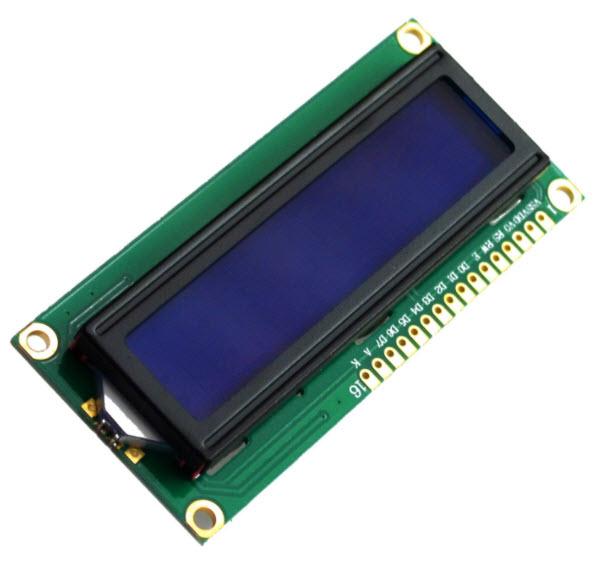1602 LCD Blue Screen Character LCD Display Blue Blacklight TFT 16X2 LCD