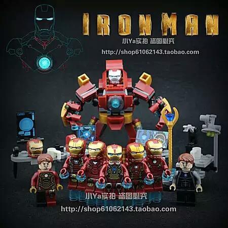 เลโก้จีน SY 624 ชุด Ironman